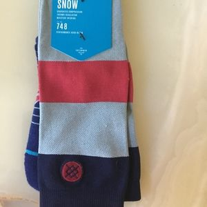 Black BNWT Stance NEW Men/'s Monteverde Socks